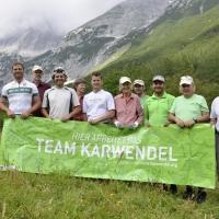 Eiche Mils mit Team Karwendel